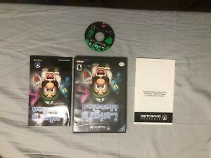Luigi's Mansion Nintendo GameCube 2001 Black Label Complete w/Disc Case & Manual