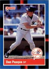 1988 Dan Pasqua Donruss Baseball Card #463