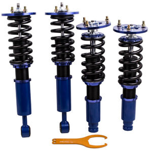 Coilover Lower Springs Set for Mitsubishi Eclipse Galant 95-99 Adjustable Height