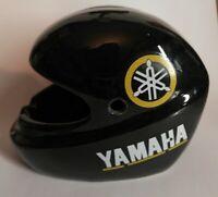 Rare Cendrier tirelire Yamaha casque moto, objet de décoration, motard