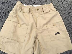 AFTCO Boys Khaki/Beige Fishing Shorts,  size 26 (10-12 yrs)
