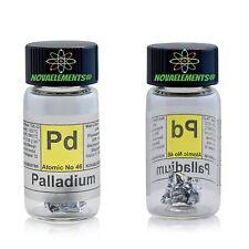 Palladium Metal Element 46 PD 1cm Foil 99 95 in Labeled Glass Vial