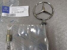 Genuine Mercedes W116 Rejilla Frontal A1165860188 Kit de reparación de estrella insignia de Bonnet
