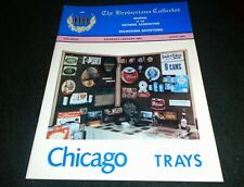 Beer History Book- Chicago Beer Trays, Fire Insurance Maps for Brewery Research