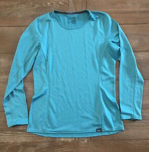 Patagonia Capilene MidWeight Baselayer Shirt Polartec Medium Long Sleeve Womens