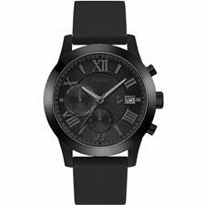 Guess Classic Men's Black Dial Chronograph Quartz Watch - W1055G1 NEW