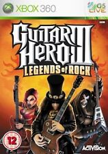 Xbox 360-Guitar Hero III (3) Leyendas del Rock ** Nuevo Y Sellado ** existencias oficiales del Reino Unido