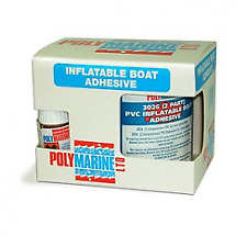 Polymarine PVC 2 Part Adhesive Glue. 250ml Tin. Rubber Dinghy, Boat etc.