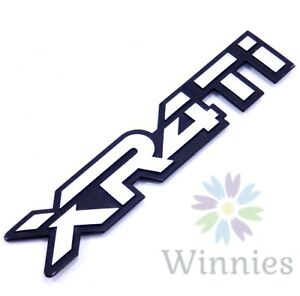 85 86 87 88 89 Merkur XR4Ti Rear Hatch Emblem Nameplate Metal Badge OEM Trunk A