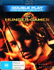 The Hunger Games - Jennifer Lawrence, Mint 2 Disc Blu-ray Set