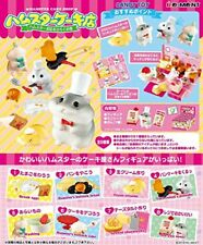 Winding 8 pcs Candy Toys & gum to open a hamster cake shop hamster shops