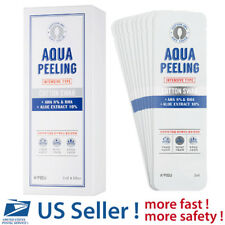 A'PIEU Aqua Peeling Cotton Swab (Intensive) Set (8+2)  - US SELLER -