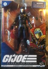 Gi Joe Classified Cobra Commander #6. New in Box. Never Opened.