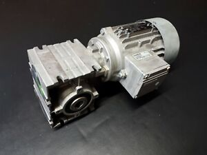 Siemens Worm Geared Motor Hollow Shaft 20:1 3 Phase 50/60HZ 2KJ1732-5CE13-2HH1