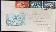 FFC LISBON PORTUGAL TO NEW YORK 1939 (K199)