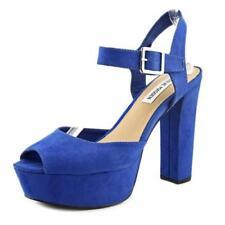 Scarpe da donna blu tessile Steve Madden