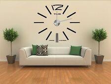 Design 1 Wanduhr 100 cm 3 D XXXL Uhr Moderne Selbst gestaltbare Do-it-yourself