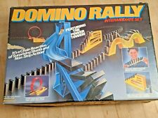 Domino Rally Intermediate Set 1989 Pressman Toy Corp ~ Action Game ~ 1+ Players