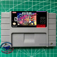 The Second Reality Project Reloaded SNES Video Game USA  Version