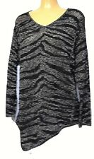 plus sz XS / 14 TS TAKING SHAPE Stitched Up Jumper stretch sexy glam top NWT!