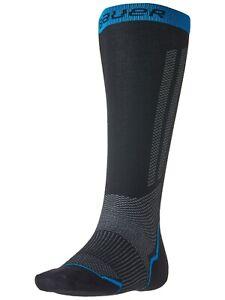 Bauer Hockey S21 Performance TALL Skate Socks - Moisture Wicking, Odor Resistant