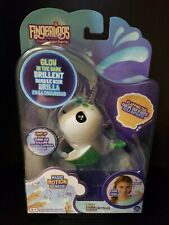 Fingerlings Light-up Narwhal - Glow in the Dark - Raya (Exclsuive) -Perfect Gift