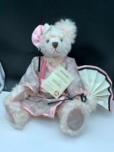 Hermann Teddy Bear Geisha Bär. 16 1/2in Limited Unrecorded