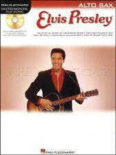 Elvis Presley Instrumental Play-Along for Alto Sax Book/CD SAME DAY DISPATCH