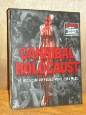 Cannibal Holocaust (Blu-ray/CD, 2014, 3-Disc Set) horror controversial film