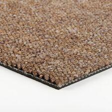 Teppichfliesen selbstliegend 50 x 50 | Schatex Living Schlinge | braun | UVP-70%