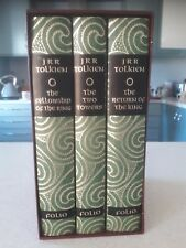 THE LORD OF THE RINGS - 3VOLUME FOLIO SOCIETY SET