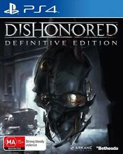 Dishonored Definitive Edition - Brand New PS4 Game
