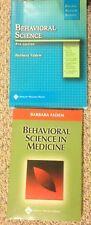 2BOOKS Board Review Series Behavioral Science in Medicine by Barbara Fadem & BRS