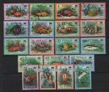 Tuvalu - 1979 Fish Set Used
