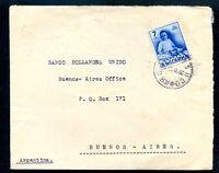 BULGARIA to ARGENTINA cover 1940