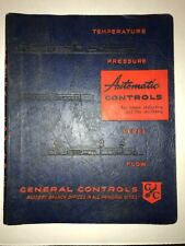 Vintage 1956 General Controls Potentiometer Drawings/Catalog Rare