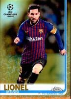 2019 Topps Chrome UEFA Champions Soccer Refractor Parallel Singles-Pick Ur Cards