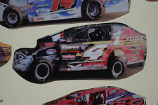 Tim McCreadie #4 - Super Dirt Car Modified Refrigerator Magnet Tool Box Magnet
