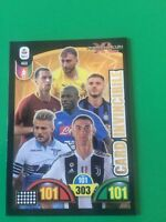 CARD INVINCIBILE 468 CALCIATORI ADRENALYN XL 2018 2019 CON RONALDO DA EDICOLA