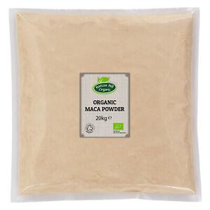 Organic Maca Powder 20kg Certified Organic