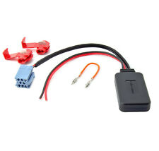 BLUETOOTH AUX ADAPTER für ALFA FIAT LANCIA VW Becker Blaupunkt Visteon MP3