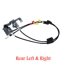 Pair Rear LH & RH Side Door Upper Latch w/ Cable For 1997-04 Ford F-150 F-250