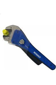 Kobalt Ratcheting Rapid Adjust 1-Piece 8-in Steel and Plastic Adjustable Wrench