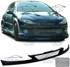 FRONT GRILLS FOR PEUGEOT 206 + 206 CC 98-06 SPOILER BODY KIT NEW