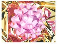 Jeff Koons - signed pink bow, edition of 50,  Damien Hirst