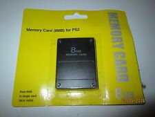 NEW MEMORY CARD FOR PS2 SYSTEM   8MB