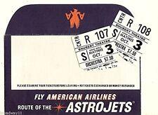 "Inga Swenson ""110 IN THE SHADE"" Lesley Ann Warren 1963 Tryout Ticket Stubs"
