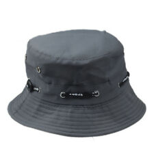 Bucket Hat Boonie Flat Hunting Fishing Outdoor Summer Cap Unisex 100% Cotton New