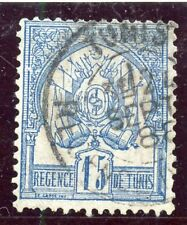 TIMBRE COLONIES FRANCAISES / TUNISIE OBLITERE N° 4 COTE + 24 €