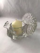 Turkey Candle Vintage Glass Holder Votive Avon Thanksgiving Harvest Autumn Decor